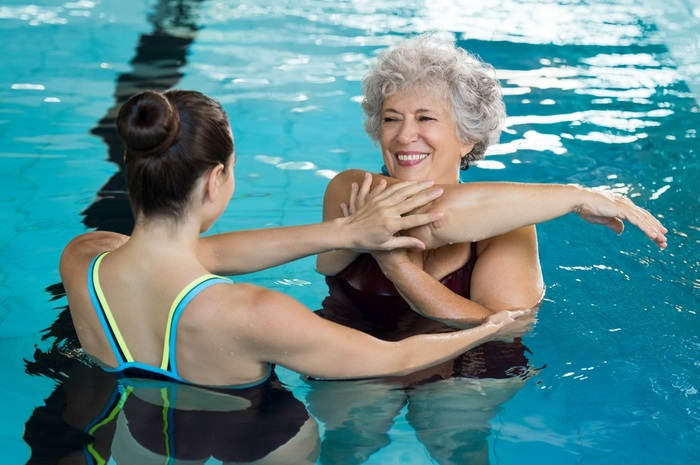 swimming club for older people