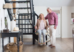 Options for curved stairlifts